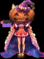 Render || Pixiv.Id.268259 || Halloween by LilyBananaKagamine