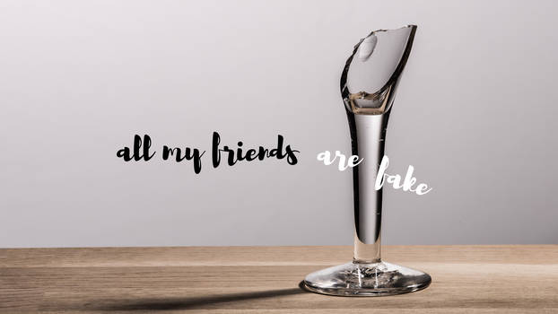 all my friends are fake (1.0)