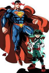 Crossover - Superman and Deku
