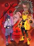 Naruto and Sasuke VS Madara