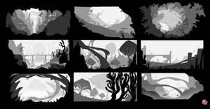 Concept Art - New Worlds