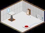 Portal test chamber