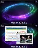 Spacious desktop by carlnewton