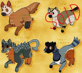 Warrior Cats Adopts  (3/4 OPEN)