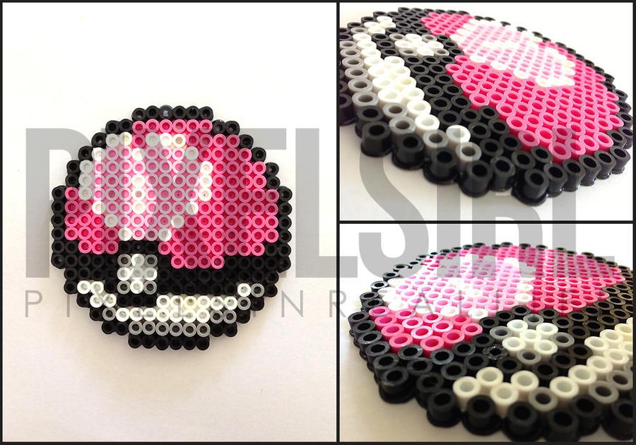 pokemon net ball perler beads