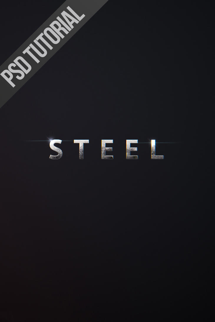 Man of Steel Text Psd Tutorial by NYClaudioTesta