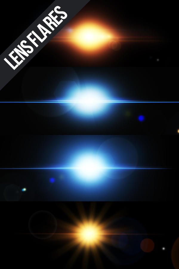 Lens Flare Package by NYClaudioTesta
