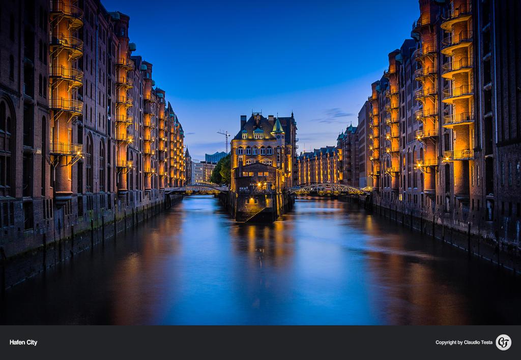 Hafen City Hamburg by NYClaudioTesta