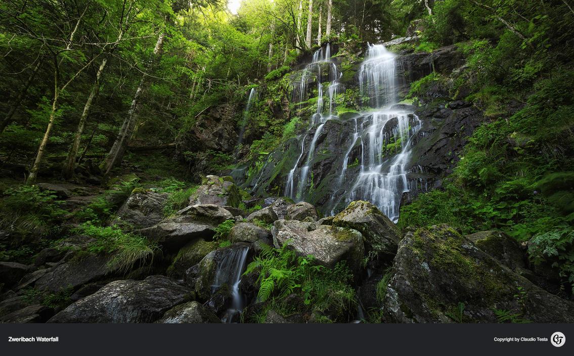 Zweribach Waterfall by NYClaudioTesta