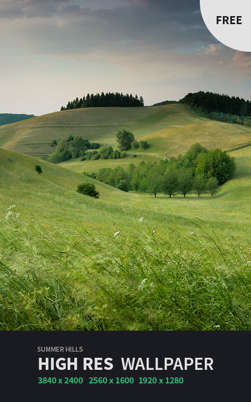 Summer Hills Wallpaper by NYClaudioTesta