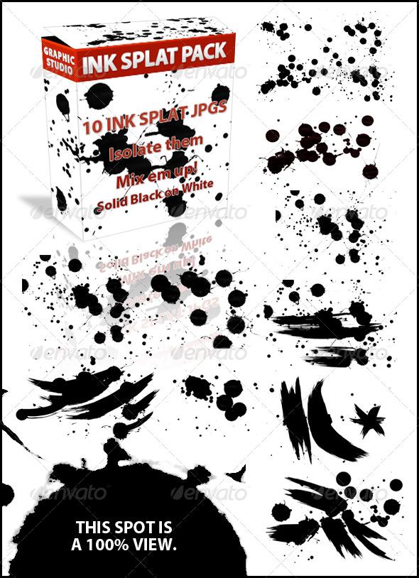 Ink Splatts by JuedM
