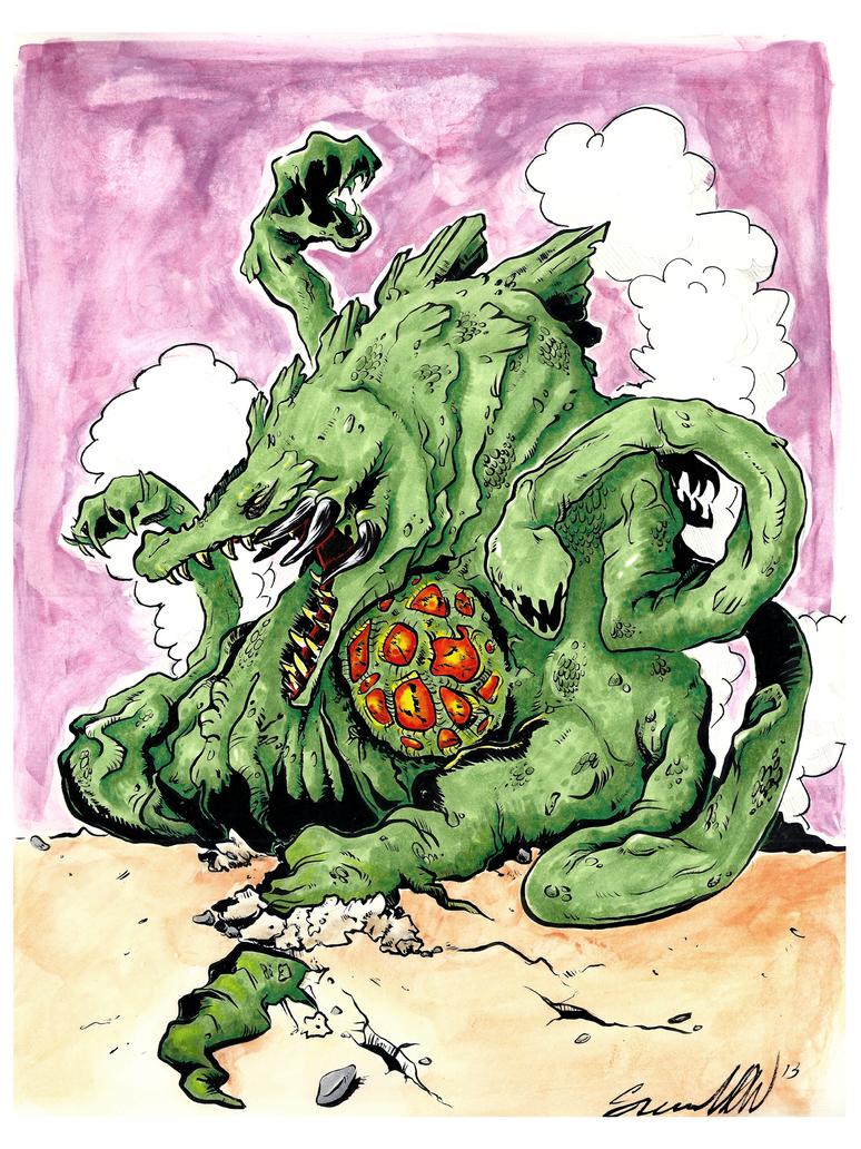Biollante by magicmaus