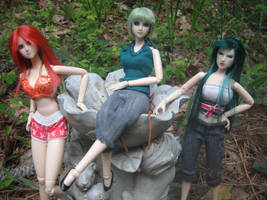 Gundam OVA girls
