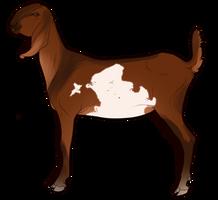 Goat Companion by EquusBallatorSociety