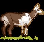Piebald Doe Decoy by EquusBallatorSociety