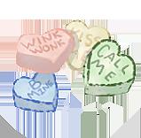 Candy Hearts by EquusBallatorSociety