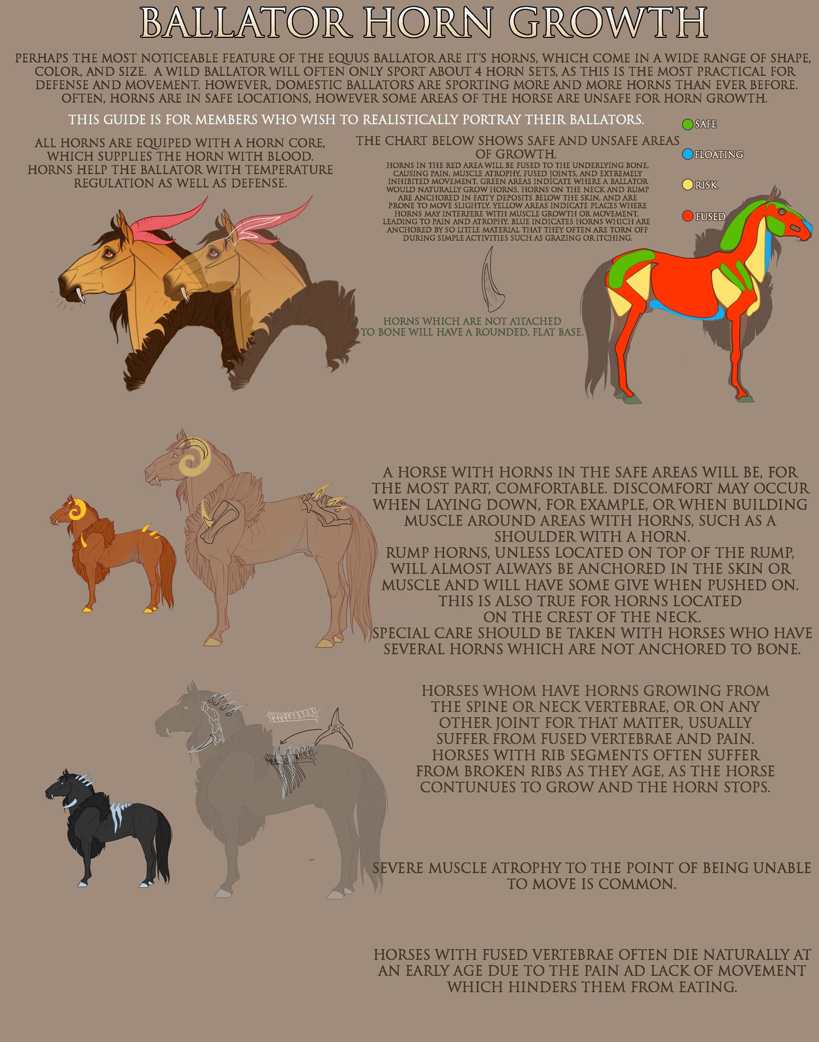 Horn Growth By Equusballatorsociety On Deviantart