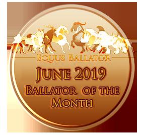 EB of the month by EquusBallatorSociety