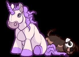 Plushie Companion by EquusBallatorSociety