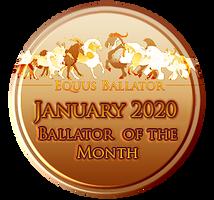 January 2020 Award by EquusBallatorSociety