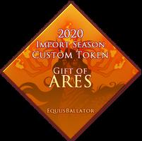 2020 EBIS - Gift of Ares Token by EquusBallatorSociety
