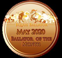 May 2020 Award by EquusBallatorSociety