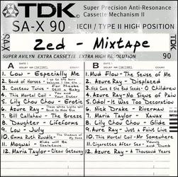 Mixtape-sleeve-zed-3 by FrogStar-23