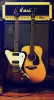 Gibson and Yamaha