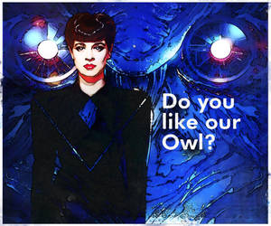 Rachael .. Do You Like Our Owl? .. no corp badge