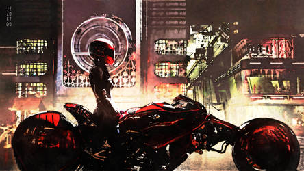 Cyber Cafe Racer - 1