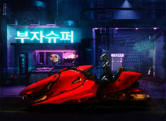 Cyber Cafe Racer - 2