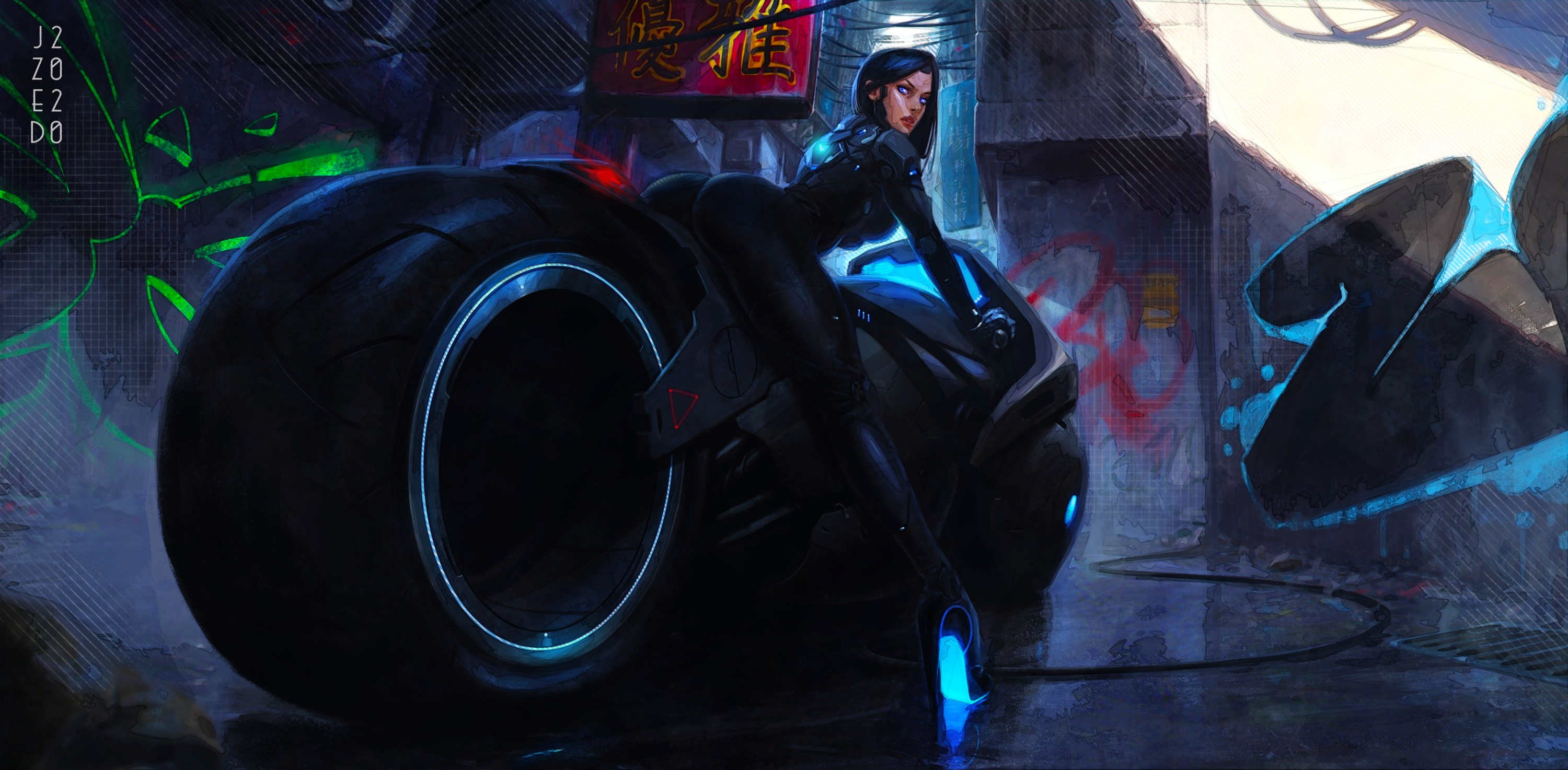 Cyber Cafe Racer - 4