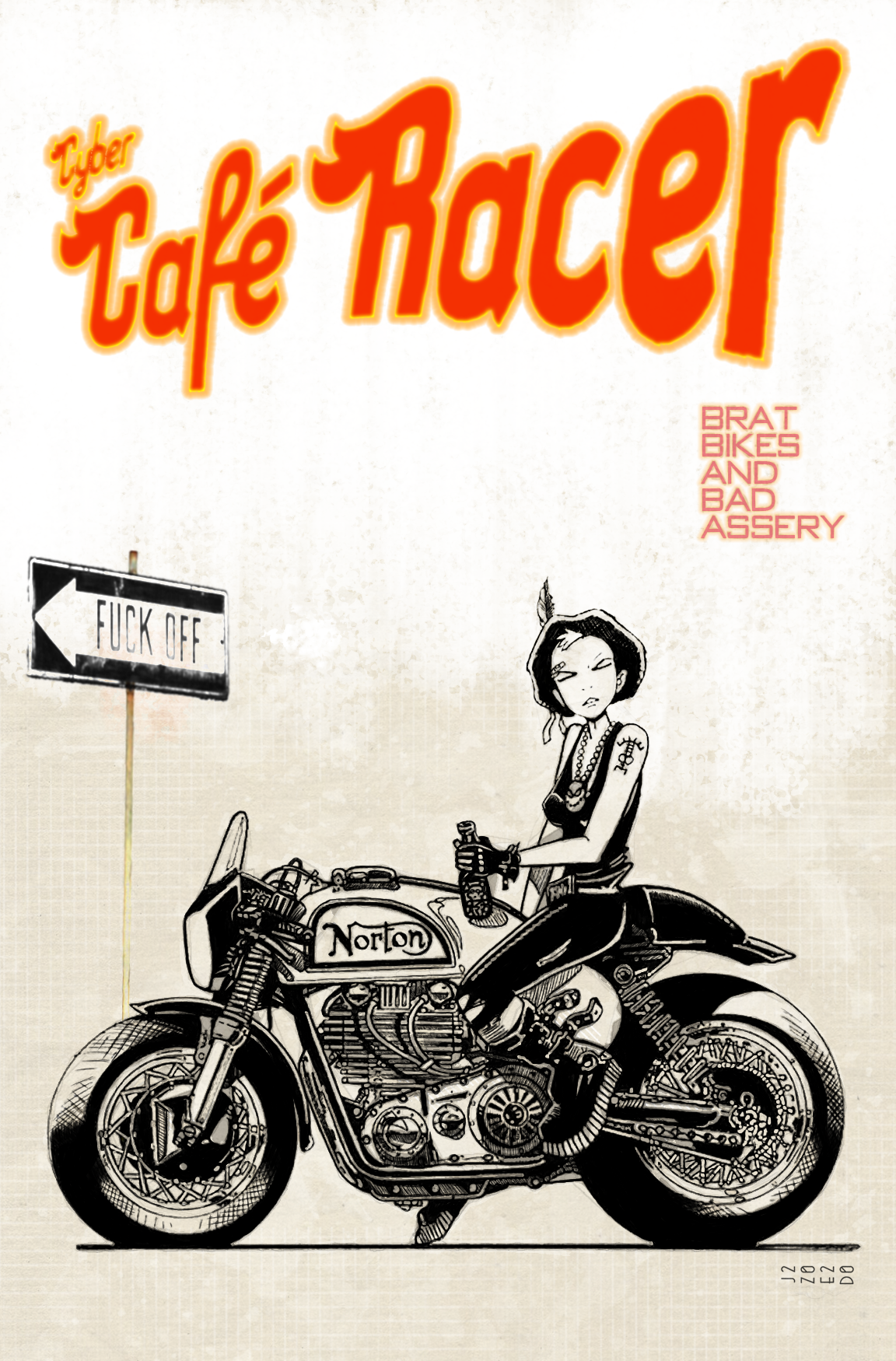 Cyber Cafe Racer - 6