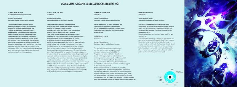 Communal Organic Metallurgical Habitat 001-1