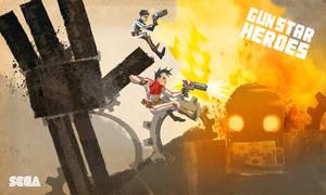 Gunstar Heroes by matthewethan