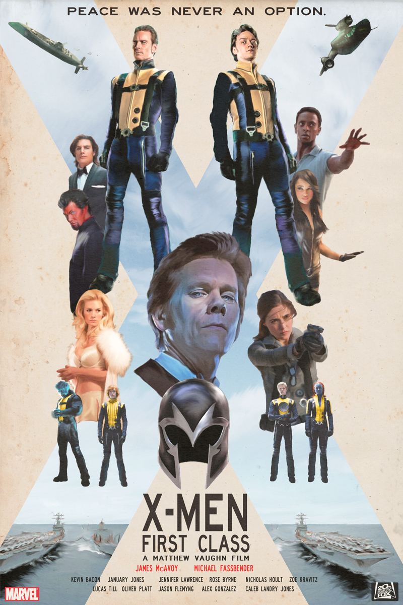 X-Men: First Class by matthewethan