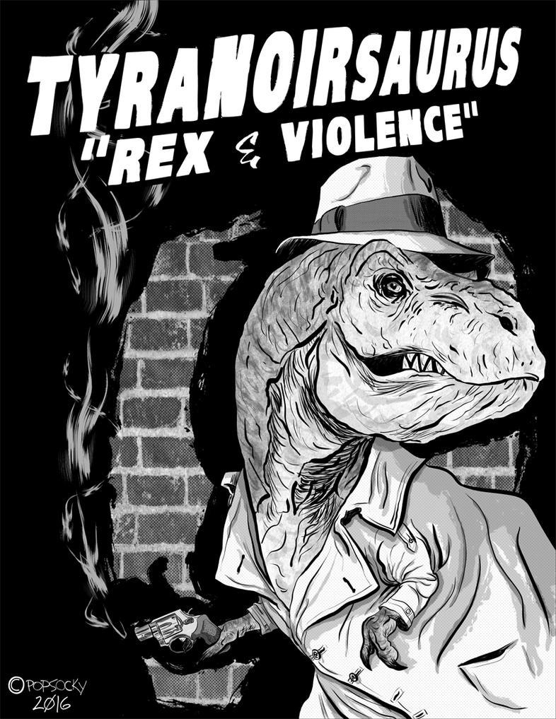 Tyranoirsaurus Rex by matthewethan