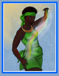 Bunzi Goddess of the Rain