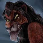 King Scar by DragonPinkiePie