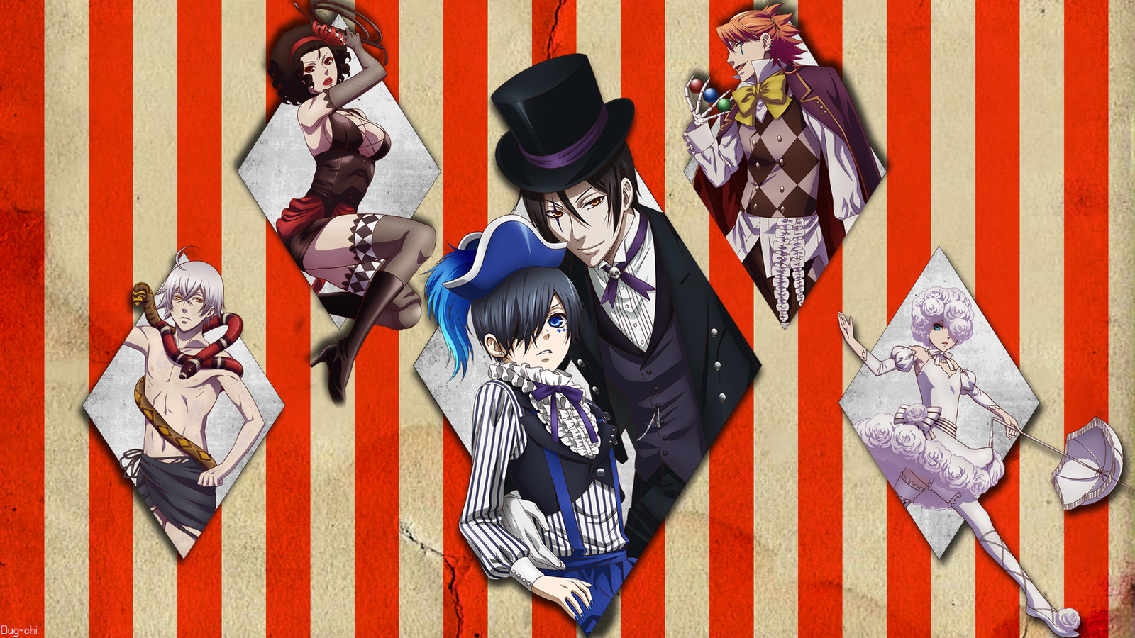 Black Butler Book Of Circus Song
