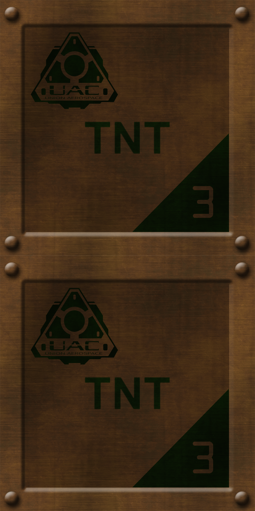 Brown TNT Crates by Hoover1979