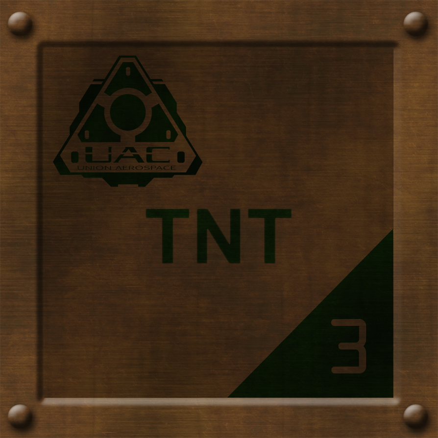 Brown TNT Crate by Hoover1979