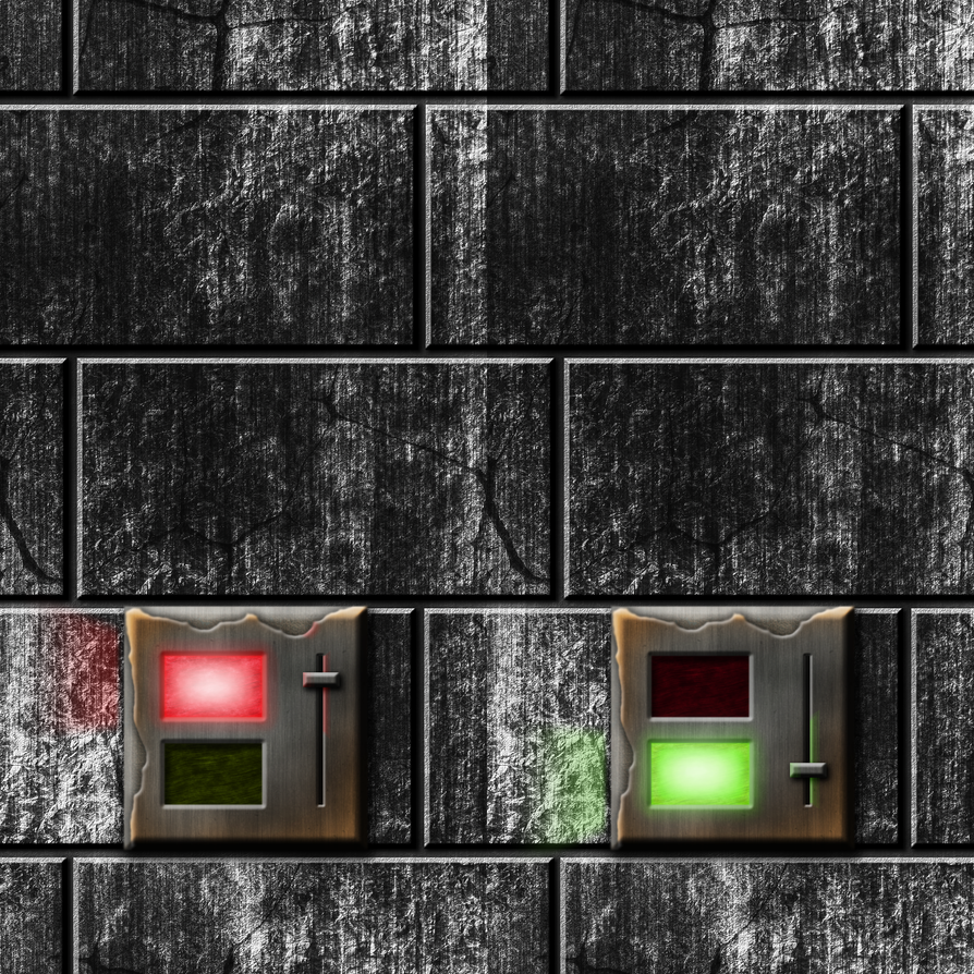 Grey Stone Bricks with Off-On Switch by Hoover1979