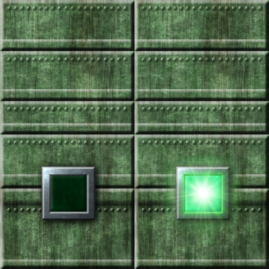 Green Tech Wall Switch Texture by Hoover1979