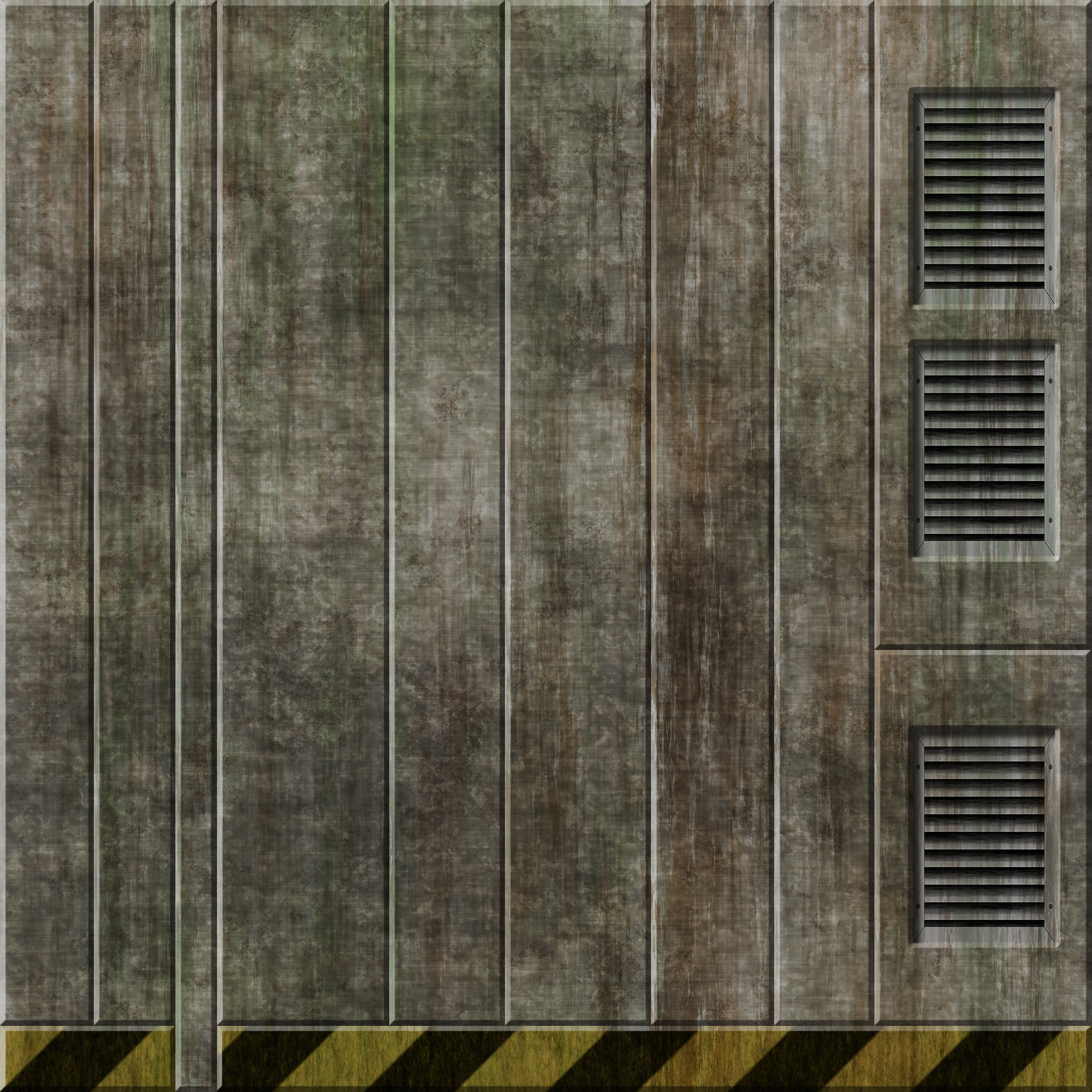Cement Wall 6 Remake by Hoover1979