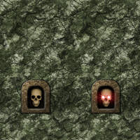 Green Stone with Skull Switch by Hoover1979
