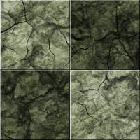 Green Stone Floor Tiles by Hoover1979