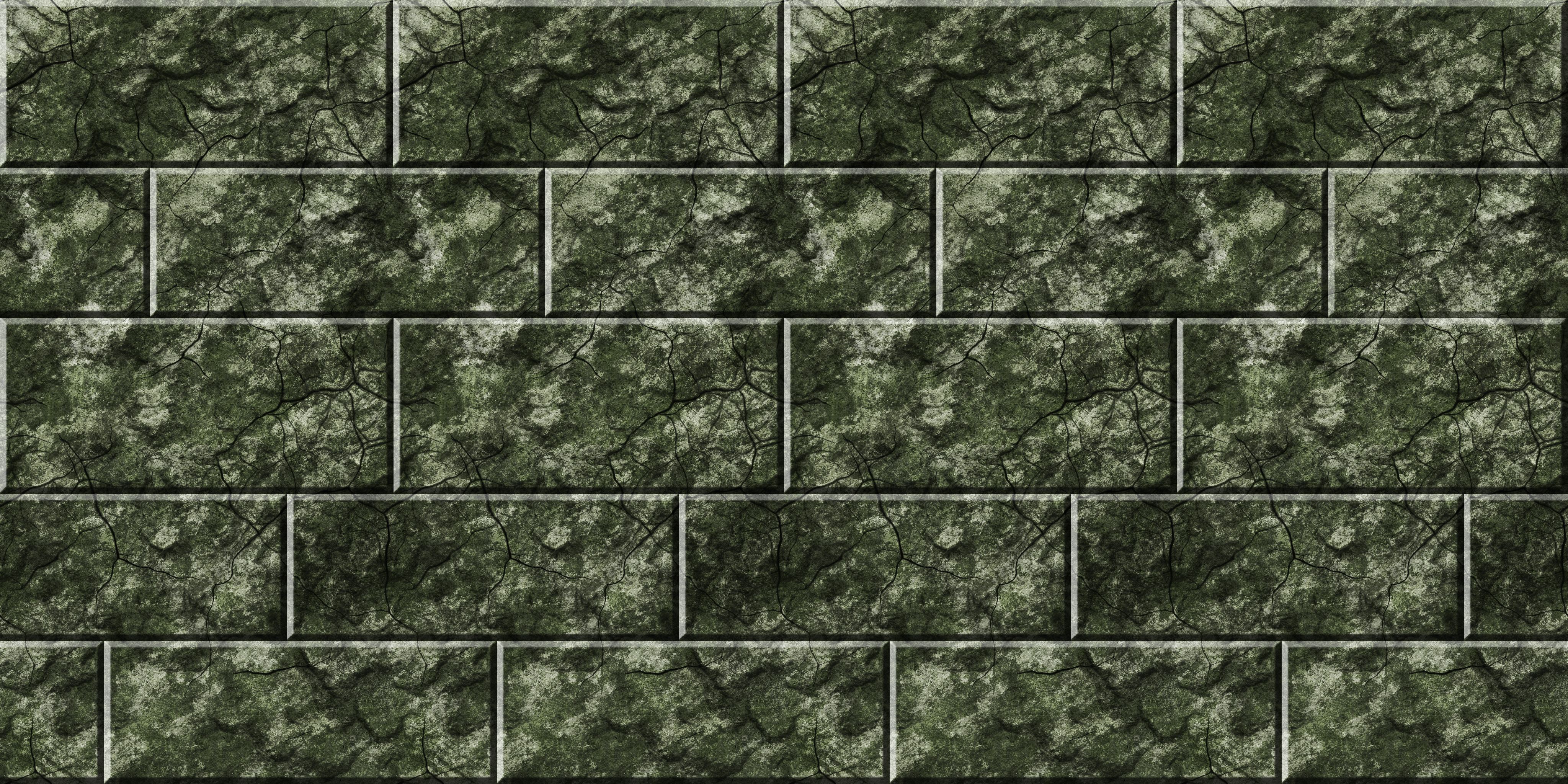 Green Stone Bricks Remake by Hoover1979