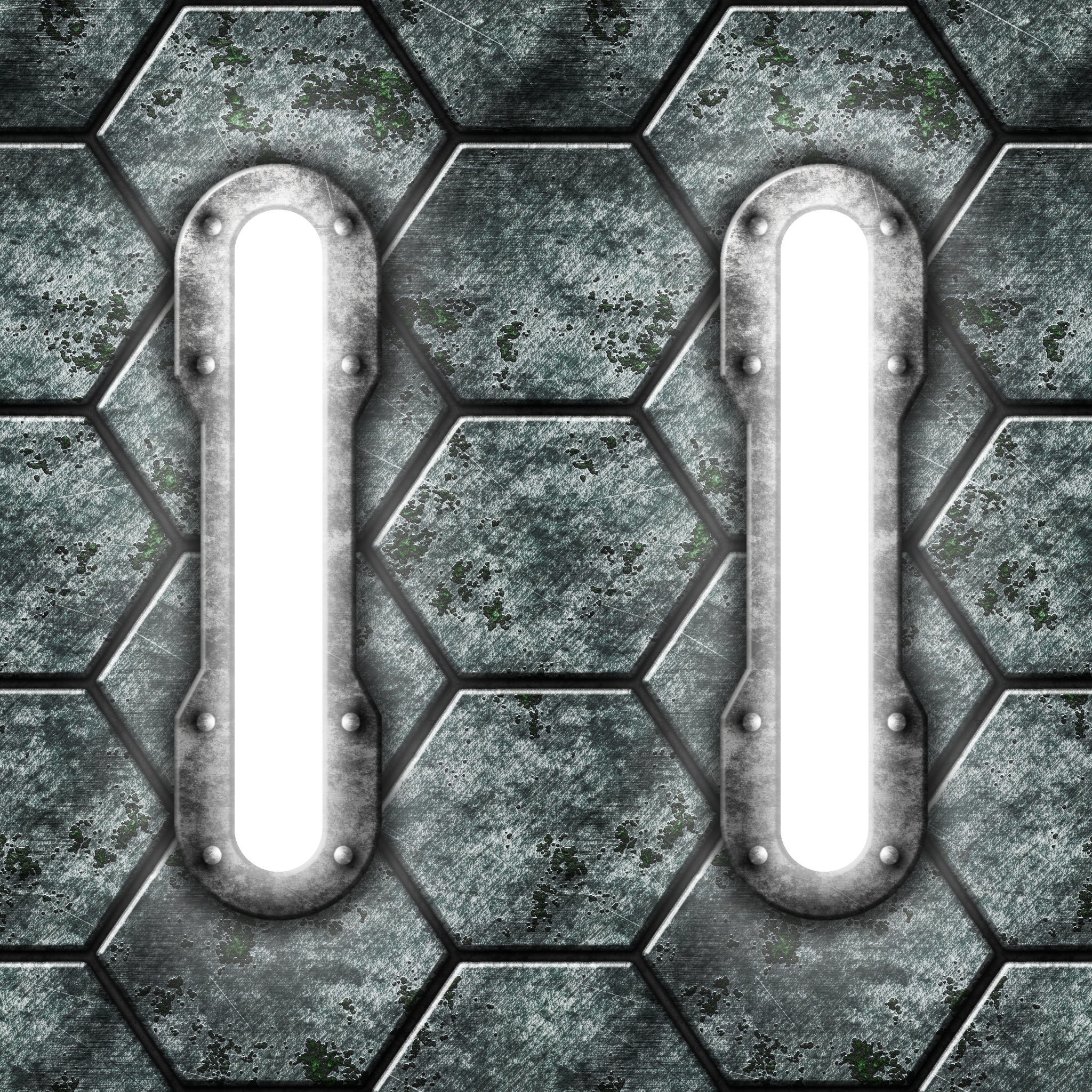 Hexagonal Metal Lights Remake by Hoover1979