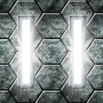 Hexagonal Metal Lights Alternate Version